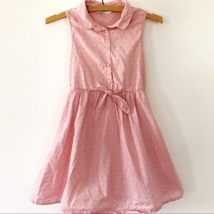 Lot of 2 H&M girls dresses Pink & strawberry blue